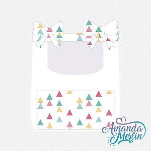 Porta trecos Candy StarsTriângulos