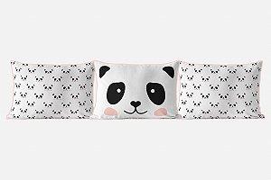 Kit almofadões Panda