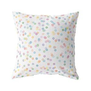 Capa de almofada Confetti colorido