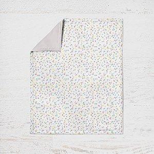 Edredom solteiro Confetti Colorido