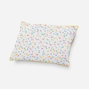 Almofada de cabeceira Confetti colorido