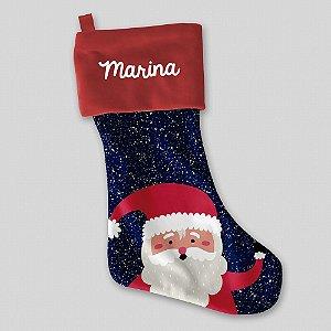 Meia de Natal personalizável (vários modelos)