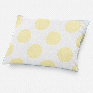 Almofada de cabeceira Bolas Amarelo Bebê