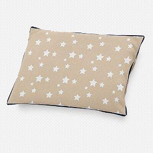 Almofada de cabeceira Bege com Estrelas