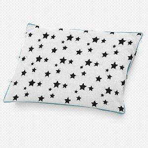 Almofada de cabeceira Estrelas Pretas