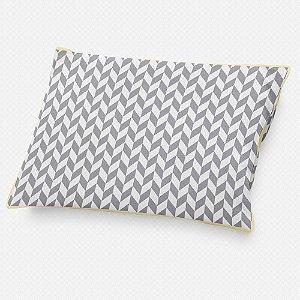 Almofada de cabeceira Flag Cinza