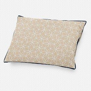 Almofada de cabeceira Lotus Bege