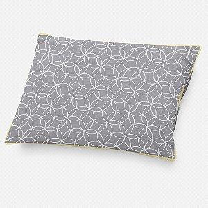 Almofada de cabeceira Lotus Cinza