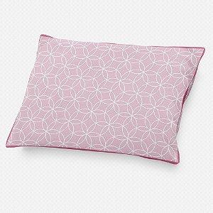 Almofada de cabeceira Lotus Rosa bebê