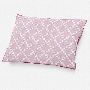 Almofada de cabeceira Pearl Rosa bebê