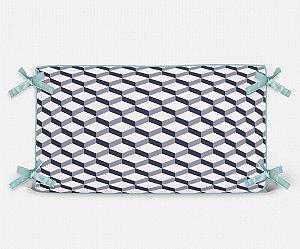 Cabeceira em espuma 3D 2 Azul Marinho