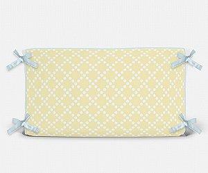 Cabeceira em espuma Pearl Amarelo bebê
