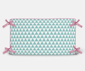 Cabeceira em espuma Triângulos Tiffany