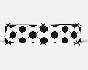 Lateral de berço em espuma Bola de Futebol branca