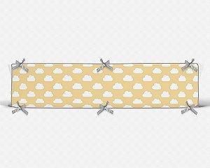 Lateral de berço em espuma Céu Amarelo Bebê
