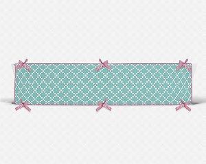Par de laterais de berço em espuma Pearl Tiffany