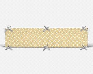 Lateral de berço em espuma Pearl Amarelo