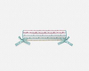 Rolo cabeceira e peseira para cama montessoriana Candy Mountains