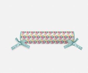 Rolo cabeceira e peseira para cama montessoriana Candy Colors