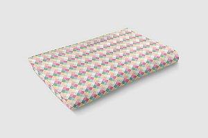 Manta carrinho Candy Colors