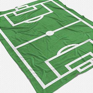Manta solteiro king Campo de Futebol
