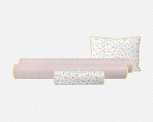 Kit berço Confetti colorido