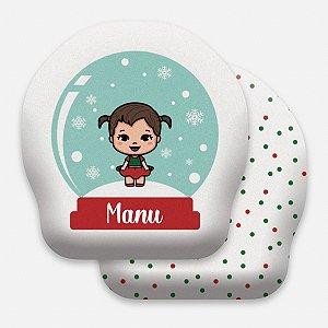 Toy Globo de Natal menina pequena