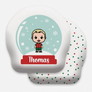 Toy Globo de Natal menino pequeno