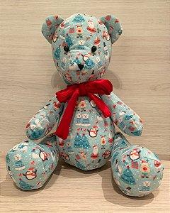 Urso Personalizável de Natal