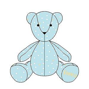 Urso ursonho Bolinhas (várias cores)