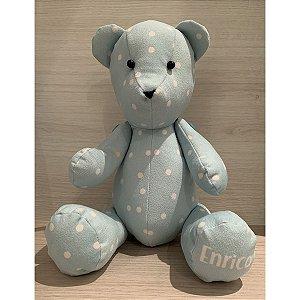 Urso Personalizável Bolinhas (várias cores)