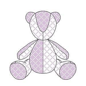 Urso Personalizável Pearl (várias cores)