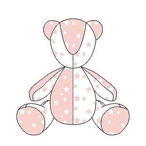 Urso ursonho Estrelas (várias cores)