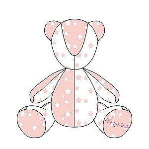 Urso Personalizável Estrelas (várias cores)