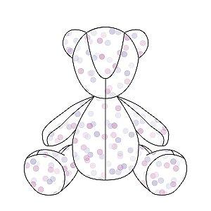 Urso ursonho Confetti uva