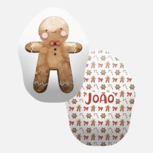 Toy Boneco de gengibre menino de Natal