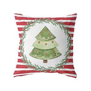 Capa de almofada Árvore de Natal