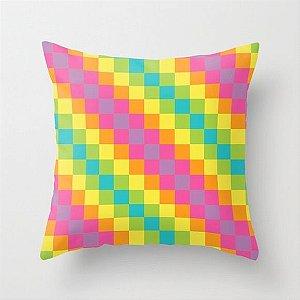 Capa de almofada Rainbow Diagonal