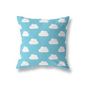 Capa de almofada Céu Azul Turquesa