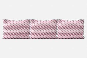 Kit almofadões para cama 3D 2 (várias cores)