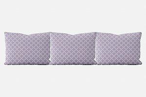 Kit almofadões para cama Pearl (várias cores)