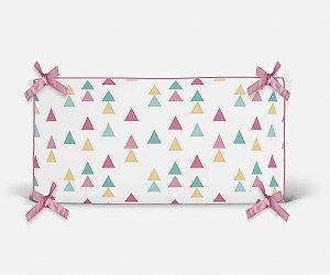 Cabeceira em espuma Triângulos Candy