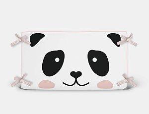 Cabeceira em espuma Cara de Panda