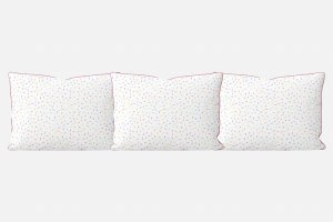 Kit almofadões para cama Granulado