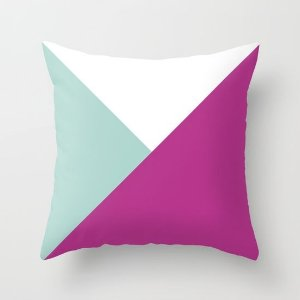 Capa de almofada Pink Geometric