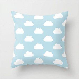 Capa de almofada Céu azul bebê