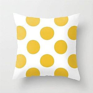 Capa de almofada Bolas Amarelas