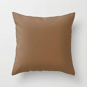 Capa de almofada chocolate