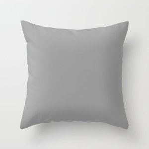 Capa de almofada Cinza