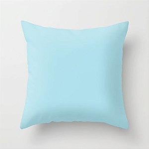 Capa de almofada Azul bebê